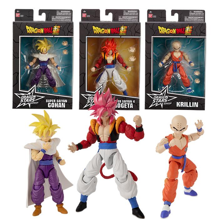 Dragon Stars Collector Value Pack: Super Saiyan 4 Gogeta(x2), Krillin(x2), Super Saiyan Gohan(x2) set