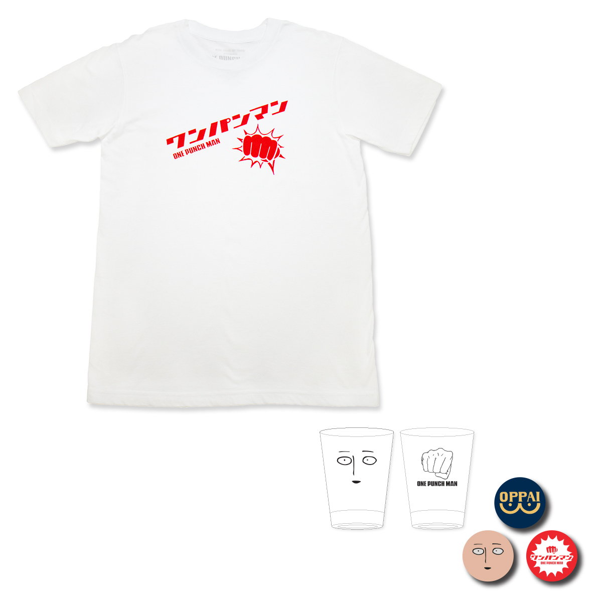 One-Punch Man Punch T-Shirt Bundle