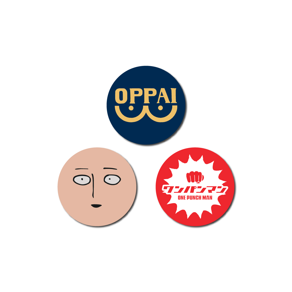 One-Punch Man Face T-Shirt Bundle [July 2021 Delivery]