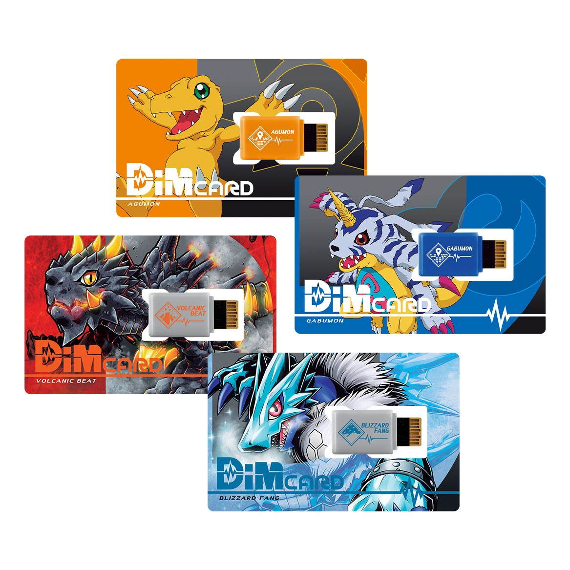 DimCard Set EX  and 01  4 cards set [October 2021 Delivery]