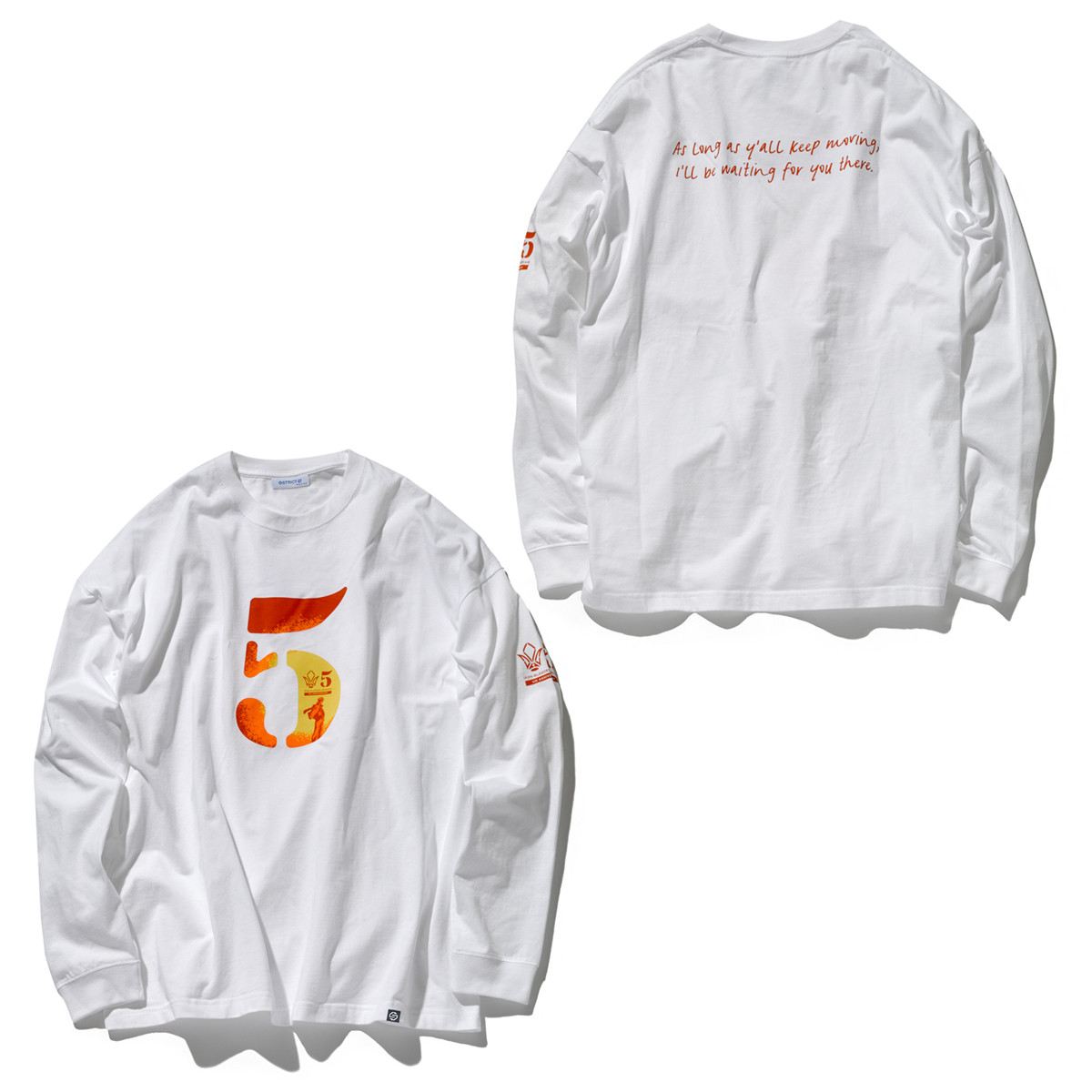 5th Anniversary Long-Sleeve T-shirt—Mobile Suit Gundam IRON-BLOODED ORPHANS/STRICT-G Collaboration