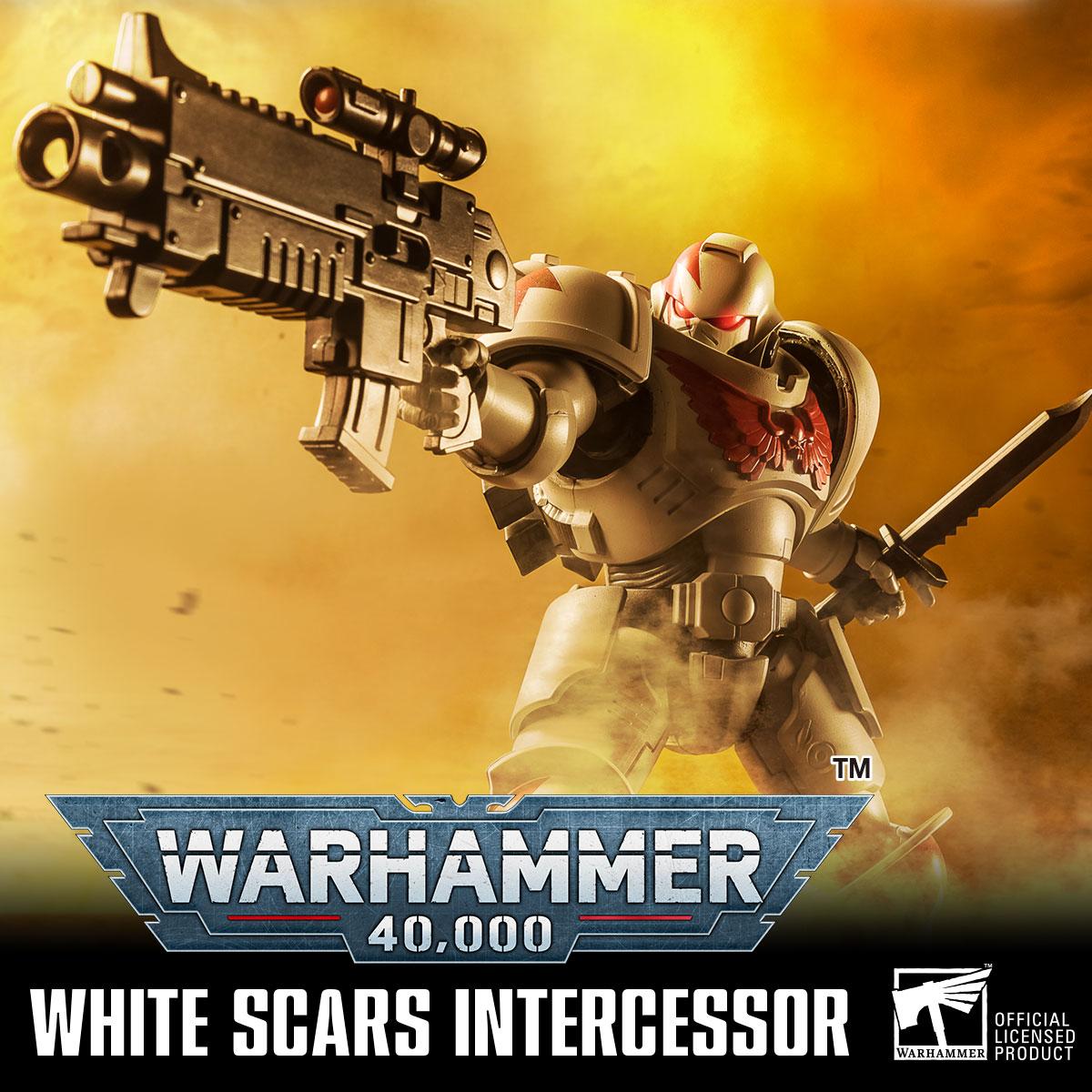 WARHAMMMER 40,000 WHITE SCARS INTERCESSOR