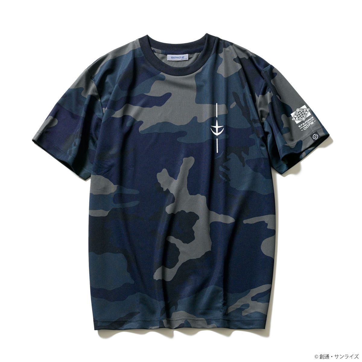 EFSF Camo Shirt—Mobile Suit Gundam/STRICT-G Collaboration