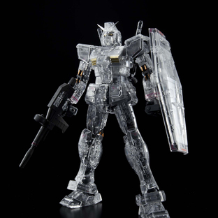 RG 1/144 RX-78-2 GUNDAM MECHANICAL CLEAR VER.[Sep 2020 Delivery]