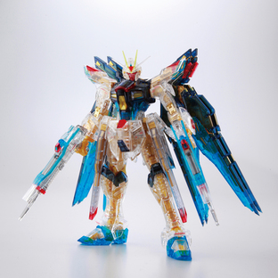 RG 1/144 STRIKE FREEDOM GUNDAM COLOR CLEAR VER.[Sep 2020 Delivery]