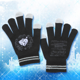 THE IDOLM@STER CINDERELLA GIRLS 3rdLIVE TOUR Knited Gloves