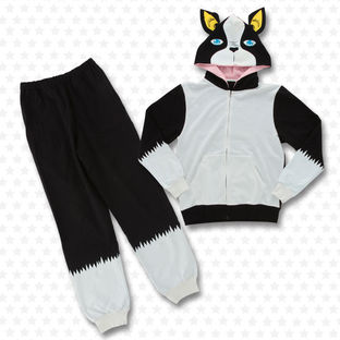 JoJo's Bizarre Adventure Iggy-themed Hoodie And Sweatpants