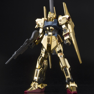 HG 1/144 THE GUNDAM BASE LIMITED HYAKU-SHIKI [GOLD COATING]