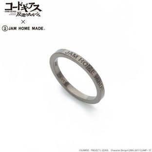 CODE GEASS Lelouch of the Rebellion X JAM HOME MADE Double Ring Lelouch