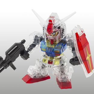 SD GUNDAM CROSS SILHOUETTE THE GUNDAM BASE LIMITED RX-78-2 GUNDAM [CLEAR COLOR][Sep 2020 Delivery]