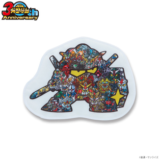 SD Gundam 30th Anniversary Mini Towel