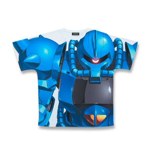 Mobile Suit Gundam MS-07B All-Over Print T-shirt [May 2021 Delivery]