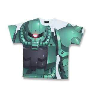 Mobile Suit Gundam MS-06 All-Over Print T-shirt [May 2021 Delivery]