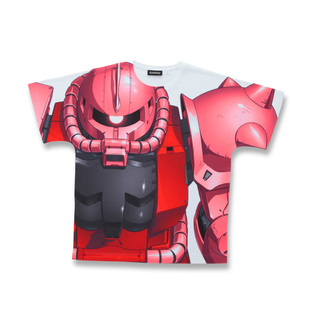 Mobile Suit Gundam MS-06S All-Over Print T-shirt [May 2021 Delivery]