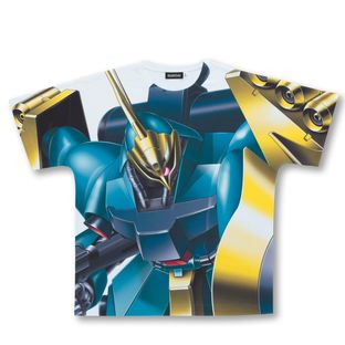 Mobile Suit Gundam Char's Counterattack Full Panel T-shirt  MSN-03  (Guney Dedicated Machine)