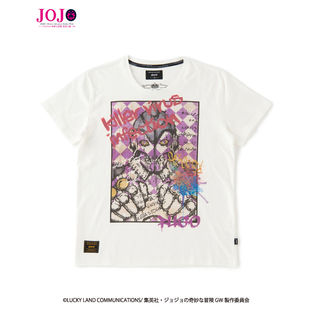 JoJo's Bizarre Adventure: Golden Wind  × glamb  collaboration T-shirt Another color.ver