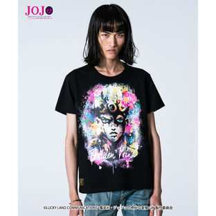 JoJo's Bizarre Adventure: Golden Wind × glamb collaboration T-shirt