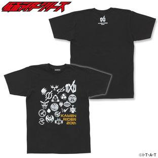 KAMEN RIDER ZI-O & HEISEI RIDER T-shirts (MARK)