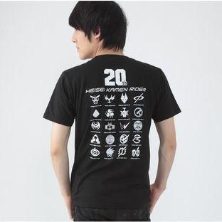 KAMEN RIDER ZI-O & HEISEI RIDER T-shirt (20th LOGO)