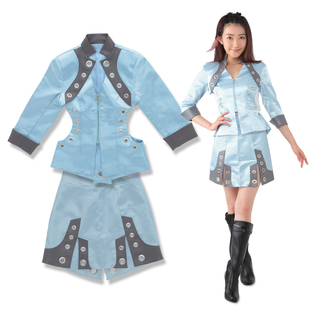 KAMEN RIDER ZI-O Cosplay Jacket&skirt (Aura)