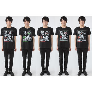 HEISEI RIDER 20th anniversary MOVIE T-shirts
