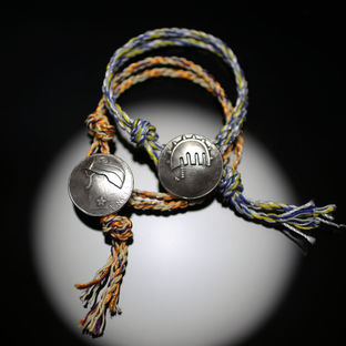 Coin Pendant Bracelet—JoJo's Bizarre Adventure: Golden Wind/JAM HOME MADE Collaboration