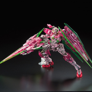 RG 1/144 THE GUNDAM BASE LIMITED 00 QAN[T] FULL SABER [TRANS-AM CLEAR][Sep 2020 Delivery]