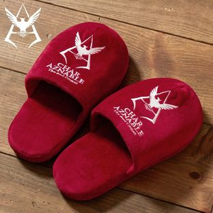 Mobile Suit Gundam Char Aznable Logo Slippers