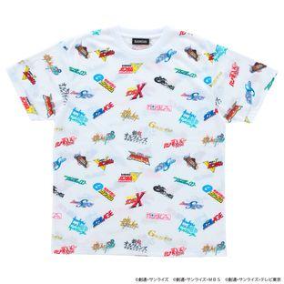 Heisei Era  Moblie Suit Gundam Logo T-shirt (All-Over Print)