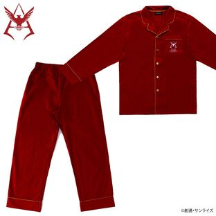 Mobile Suit Gundam Char Aznable Logo Pajamas