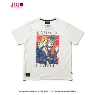 Prosciutto and Pesci T-shirt—JoJo's Bizarre Adventure: Golden Wind/glamb Collaboration
