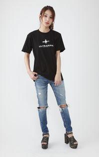 ULTRAMAN T-shirt - Title Logo and SSSP Logo ver.