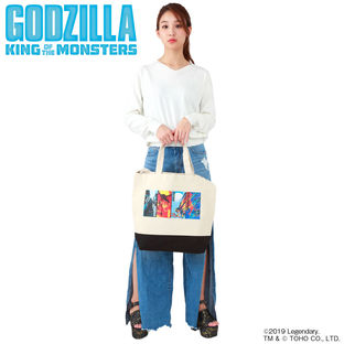 Godzilla: King of the Monsters Tote Bag