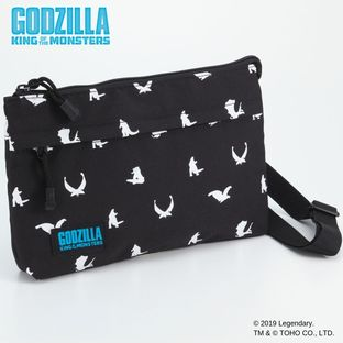Godzilla King of the Monsters Shoulder Bag - Silhouette Art ver.