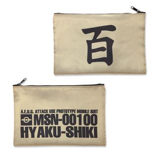 Mobile Suit Zeta Gundam MSN-00100 Pouch