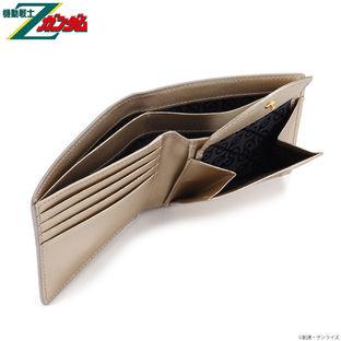 Mobile Suit Zeta Gundam MSN-00100 Bifold Wallet