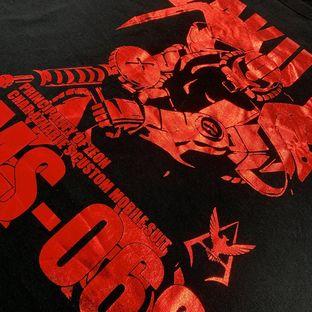 Mobile Suit Gundam Foil-Printed T-shirt