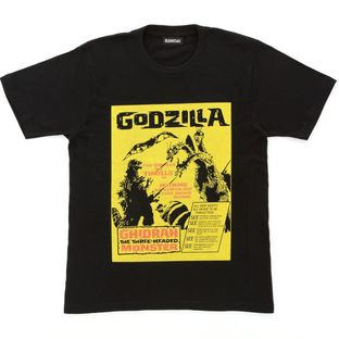 Godzilla 65th Anniversary Movie Poster T-shirt - Ghidorah: the Three-Headed Monster ver.