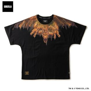 Short Sleeve Dolman Cut—Godzilla/glamb Collaboration
