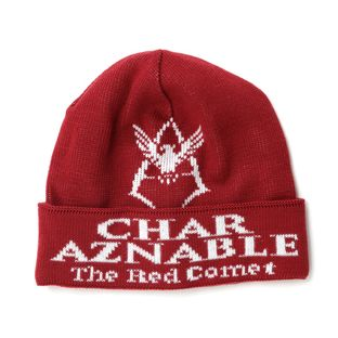Mobile Suit Gundam Char Aznable Emblem Knit Cap