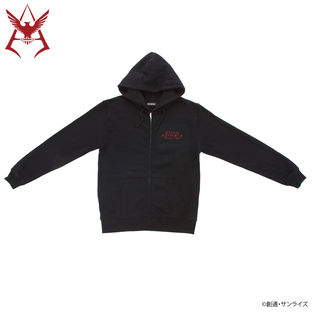 Mobile Suit Gundam Camouflage Pattern Char Aznable Emblem Hoodie [May 2021 Delivery]