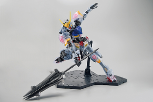 MG 1/100 THE GUNDAM BASE LIMITED GUNDAM BARBATOS [CLEAR COLOR] [Sep 2020 Delivery]