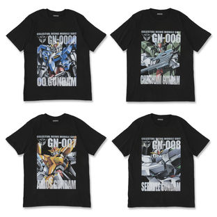 Mobile Suit Gundam 00 Full Color T-shirt II
