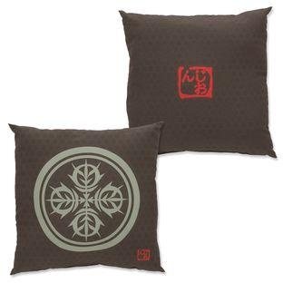Mobile Suit Gundam Japanese Family Crest Pillow
