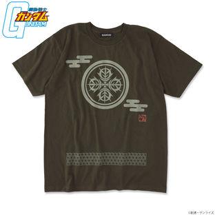 Mobile Suit Gundam Japanese Family Crest T-shirt