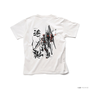 ν Gundam T-shirt—Mobile Suit Gundam: Char's Counterattack/STRICT-G JAPAN Collaboration