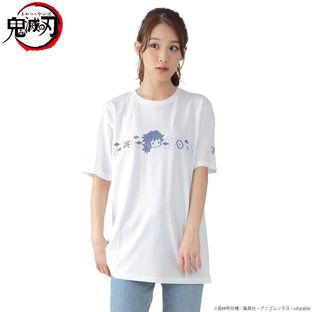 Super-Deformed Characters White Color T-shirt—Demon Slayer: Kimetsu no Yaiba