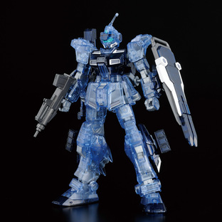 HG 1/144 THE GUNDAM BASE LIMITED PALE RIDER(GROUND HEAVY EQUIPMENT TYPE)[CLEAR COLOR]
