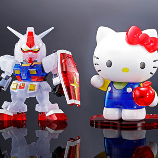 HELLO KITTY/RX-78-2 GUNDAM[SD EX-STANDARD] [CLEAR COLOR]