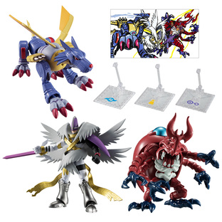 SHODO DIGIMON 2 COMPLETE SET